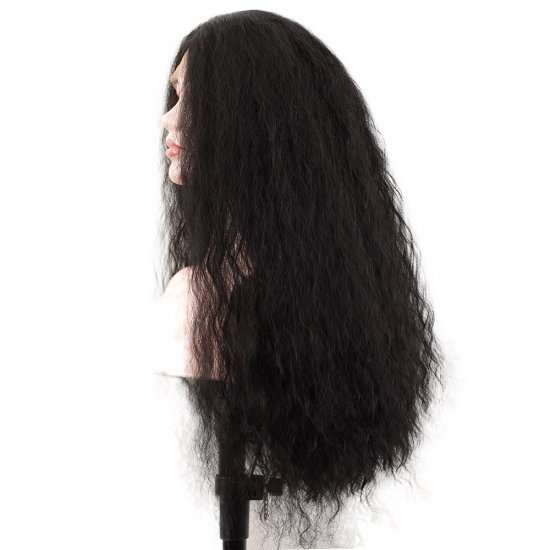 22 Inches Synthetic Kinky Curly Lace front Wigs