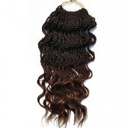18Inch Senegalese Twist Braids Wavy Crochet Hair