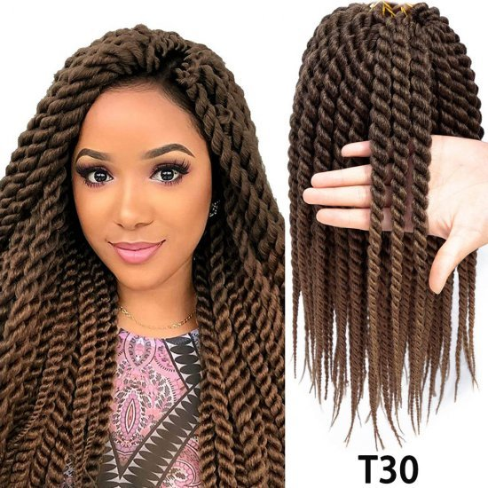 18 inches Havana Twist Crochet Hair