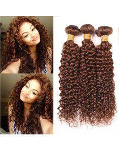 14Inch 3packs Kinky Curly Hair Water Wave Hair Synthetic Fiber Braiding Hair
