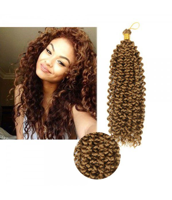 14Inch 3packs Kinky Curly Hair Water Wave Hair Syn...