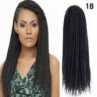 6 Packs Senegalese Twist Crochet Braids Hair