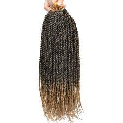 6 Packs Senegalese Twist Crochet Braids Hair