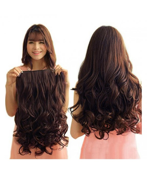 "20"" 1-pack 3/4 Full Head Curly Wave Clips in ..."