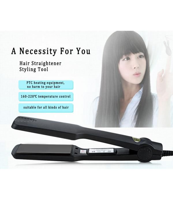Professional Tourmaline Ceramic Heating Plate Hair Straightener Styling Tools With Fast Warm-up Thermal Performance