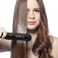 Heating Spray Steam Hair Straightener
