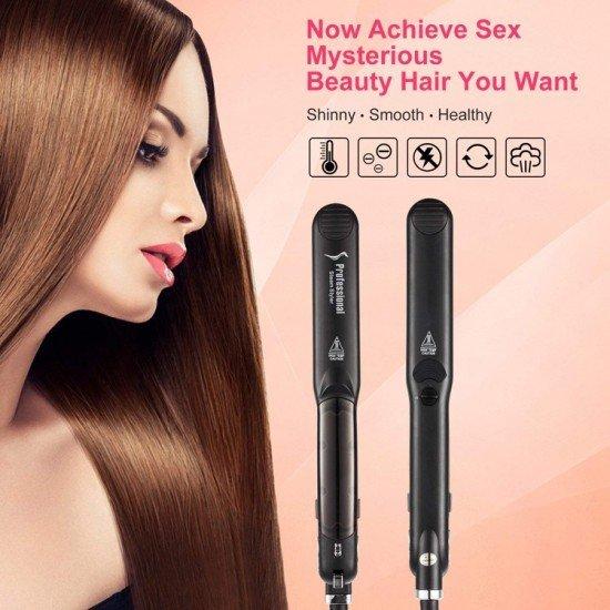 Heating Spray Steam Hair Straightener