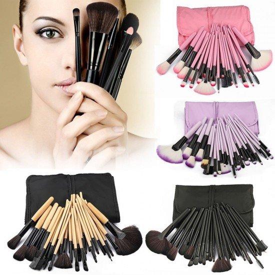 32pcs Pro Makeup Brush Set Professional