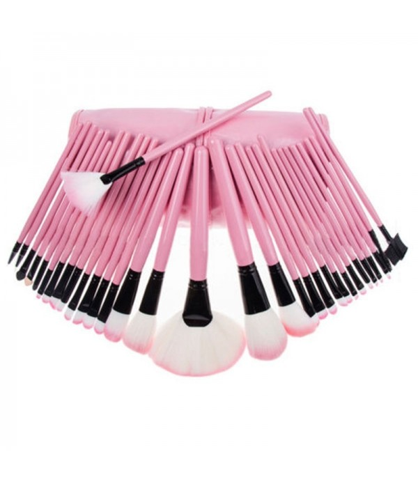 32pcs Pro Makeup Brush Set Professional Cosmetic Eyeshadow Powder Foundation Tools Brushes