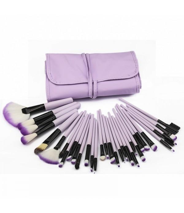 32pcs Pro Makeup Brush Set Professional Cosmetic Eyeshadow Powder Foundation Tools Brushes