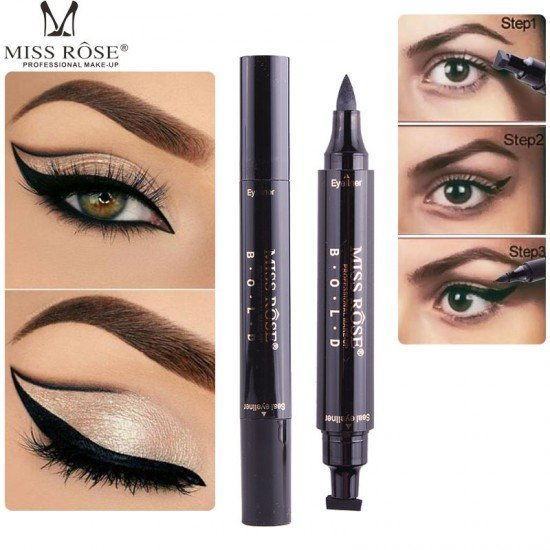 Winged Eyeliner Pencil Stamp Makeup
