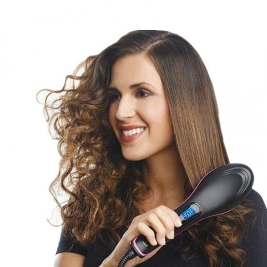 Automatic Hair Straightening Comb