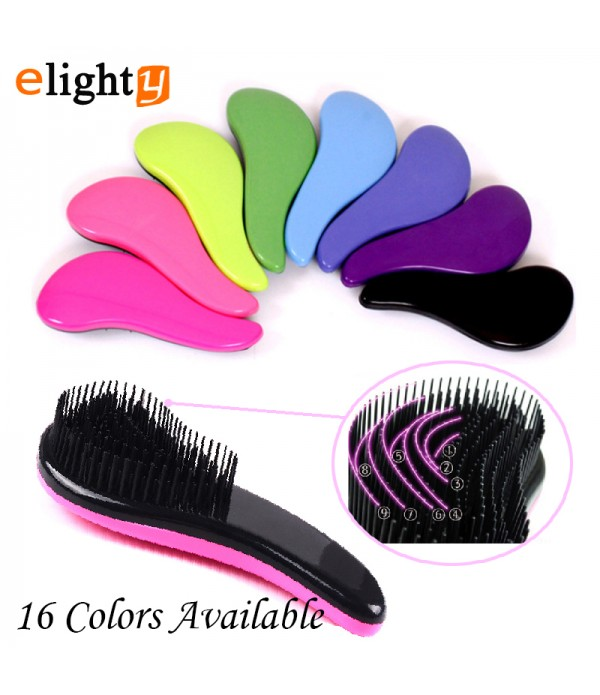 3pcs/lot Magic Handle Comb Anti-static Hair Brush ...