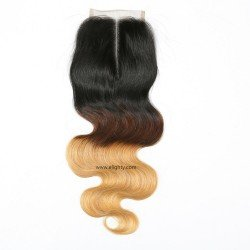 Lace Closure 4x4 Middle Part Virgin Human Hair