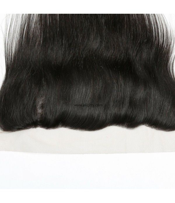 Ear To Ear Full Lace Frontal Closure Free Part Brazilian Virgin Straight Human Hair Extensions Top Lace Front Closures Bleached Knots
