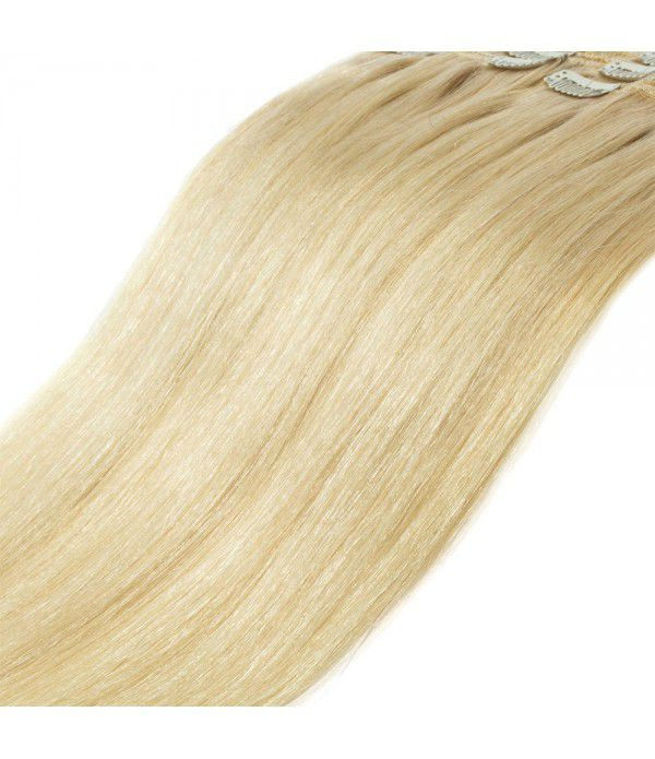 100% Real Human hair Extension Remy Hair Extension clip in Hair Extension