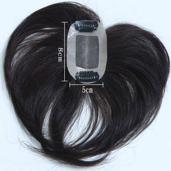 5x8cm Clip in Free Part Hair Extensions