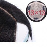 Clip in Hair Extension Free Part Closure 13x13cm