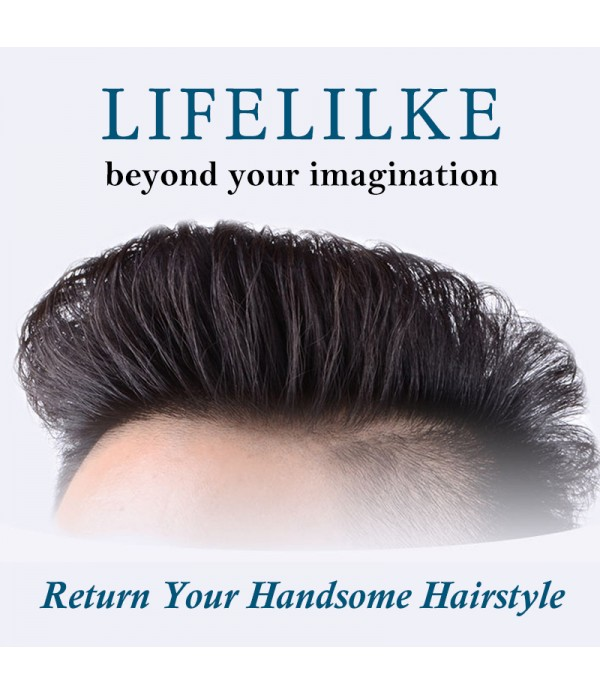 Human Hair Clip In Toupee Hairpieces Straight Hair...