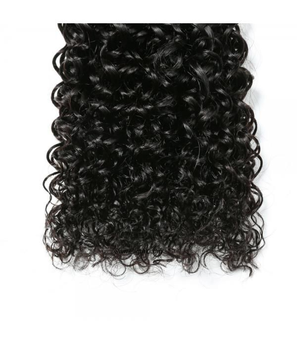 100% Brazilian Unprocessed Virgin Kinky Curly Human Hair Weave 3 Bundles Curly Hair Extensions Mixed Length 16 18 20 inches
