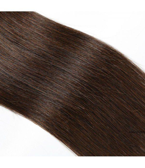 Long hair extensions 100% Unprocessed Human Weave 3 Bundles Brazilian hair extensions for Women (18 18 18 #4Color)