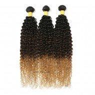3 Bundles Brazilian Jerry Curly Hair Weave