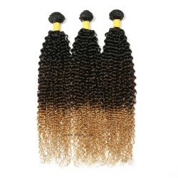3 Bundles Brazilian Jerry Curly Hair Weave