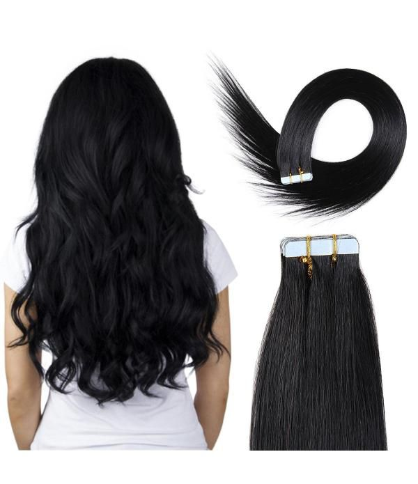 Tape In Hair Extensions 100% Remy hair Straight Hu...