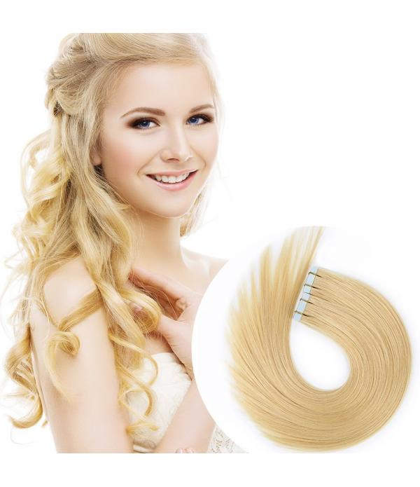 Tape in Hair Extensions Remy hair human Hair Exten...