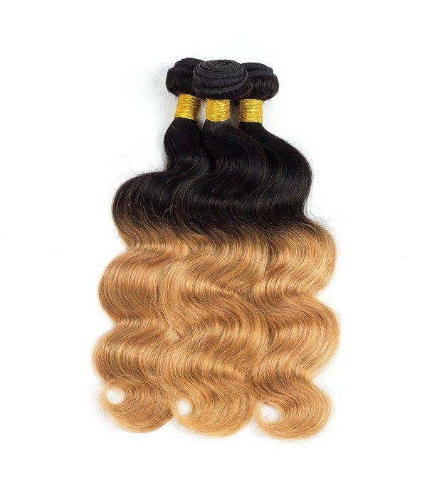 8A Grade peruvian hair human hair Extensions 3 Bu...