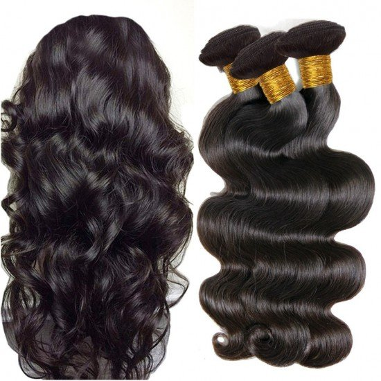 3 Bundles Virgin Human Hair Weave