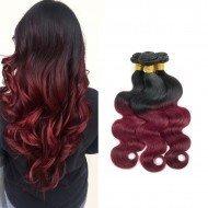 3 Bundles Burgundy Peruvian Body Wave Hair