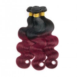 3 Bundles Burgundy Peruvian Body Wave Hair