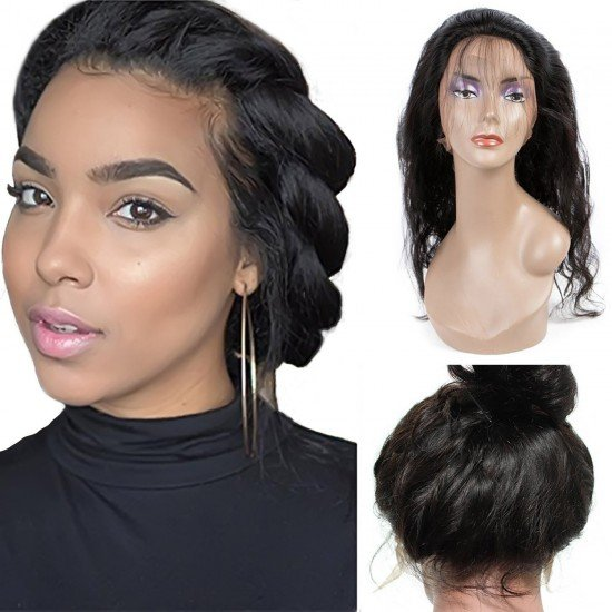 360 frontal Lace Wigs Long Body Wave