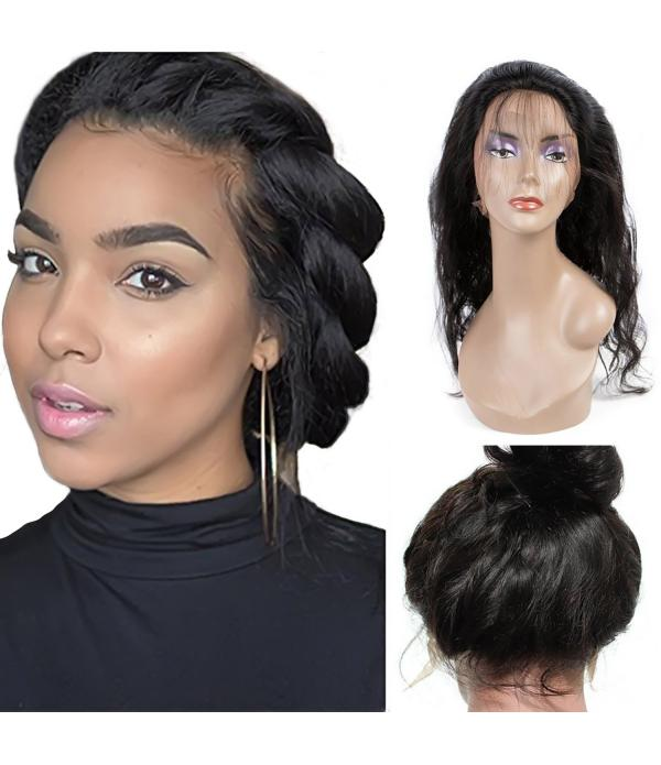 360 frontal Lace Front Closure lace front wigs wit...