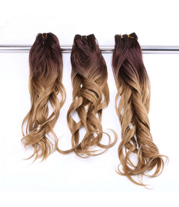 Ombre Kanekalon Hair | Curly Hair Extensions | Two...