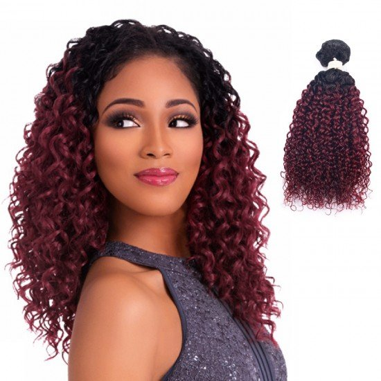 3 Bundles Ombre Curly Hair Extensions