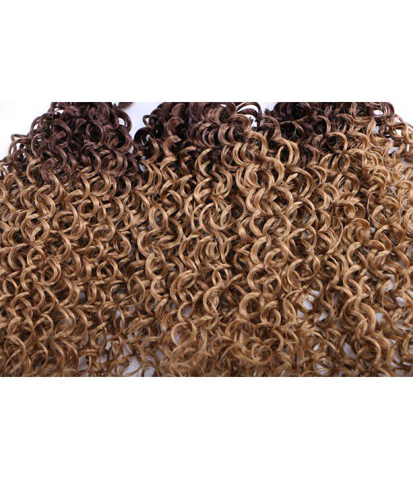 3 Bundles Ombre Kanekalon Braiding Hair | Kinky Curly Hair | Synthetic Hair Extensions Wave Hair