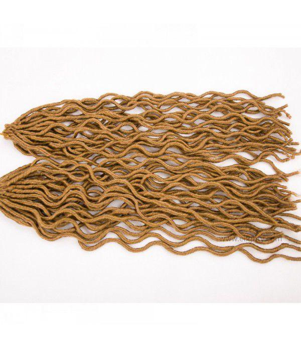 "Crochet Goddess Locs | Faux Locs Crochet Hair | Synthetic Kanekalon Braiding Fiber Hair Extension (20"",#27 Color)"