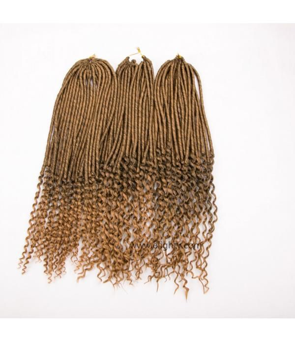 3Packs 20'' Goddess Faux Locs Crochet Hair Braids ...