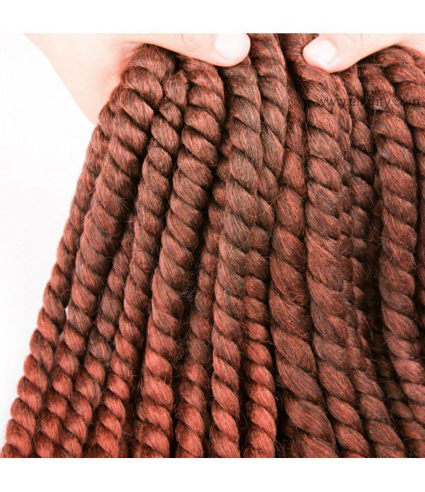Braids Crochet Hair Small Synthetic Hair Extensions Twist Crochet Braids Hairstyles Kanekalon Braiding Hair Style Long Dreadlocks for Black Women