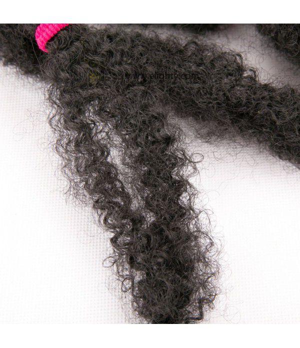 Marley Afro Braid Hair Extensions, Kinky Curly Bulk Twist Crochet Braids 12 Strands/ Pack, 100g