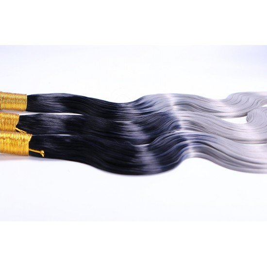 3 Bundles Ombre Synthetic Hair Extensions