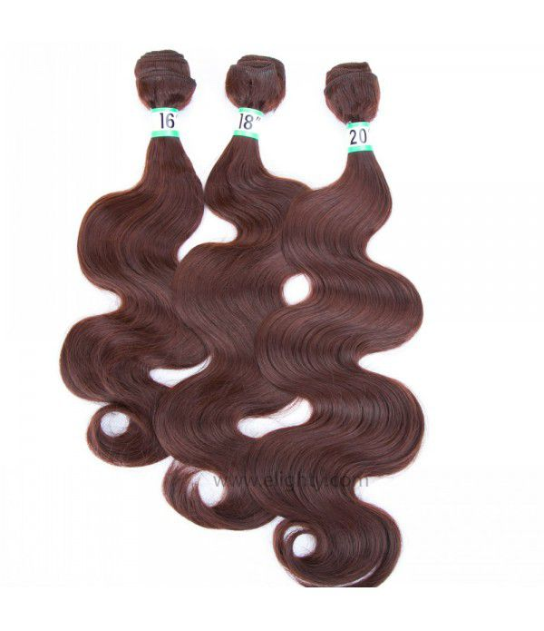 Body Wave Hair Extensions Weave Bundles and Synthe...