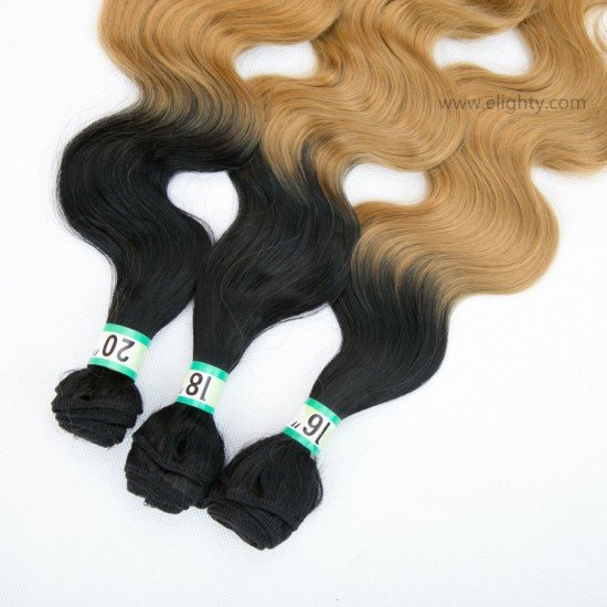 3 Bundles Body Wave Ombre Hair Extensions
