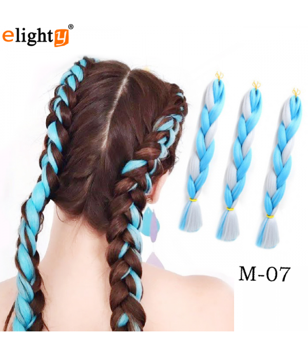 24inch 100g/pcs 3pcs/lot Xpression Braiding Hair J...