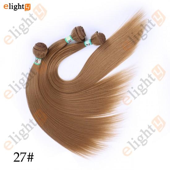 3 Bundles Straight kanekalon Synthetic Hair