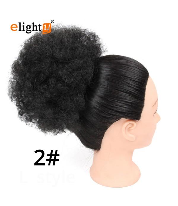 Hairpiece Hair Rubber Pretty Girls Curly Messy Bun Hair Twirl Piece Scrunchie Wigs Extensions