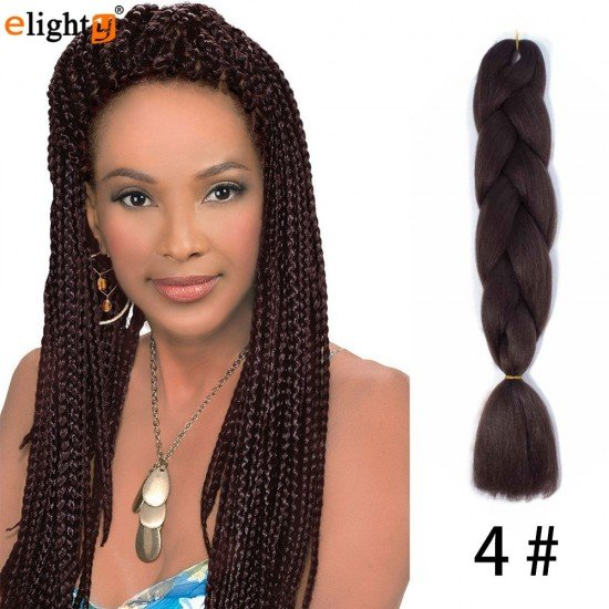 5 packs jumbo box braids hair