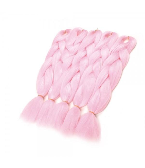 5Pcs/Lot 24 inch Jumbo Box Braids Kanekalon Synthetic Braids African Xpression Braiding Hair Extension